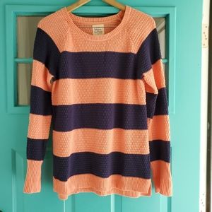 Anthropologie Between Me & You  Striped Sweater